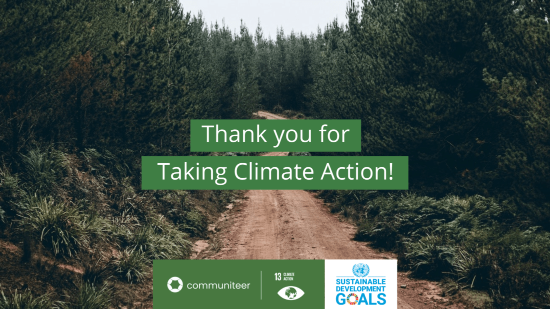 thank you for taking climate action