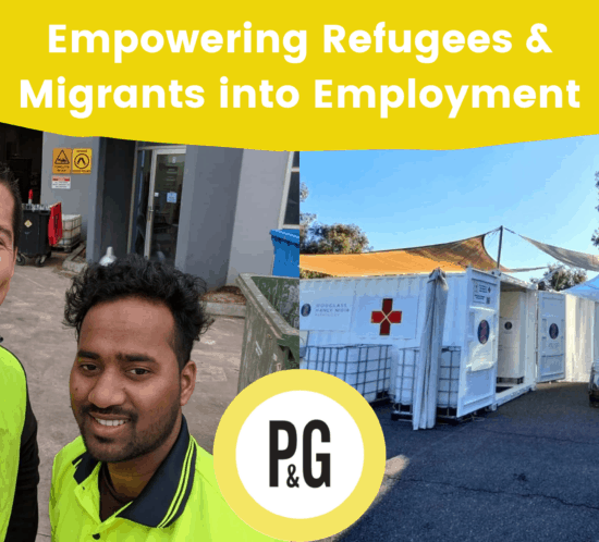 empowering refugees & migrants into employment